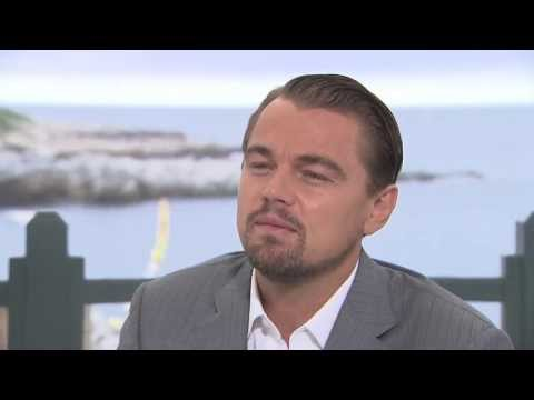 Leonardo DiCaprio talks The Great Gatsby