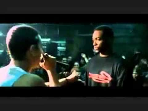 8 Mile Final Scene Rap Battle Eminem Vs Poppa Doc video