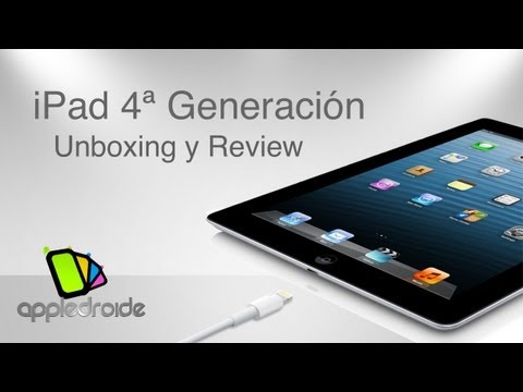 iPad de cuarta generaci�n, unboxing y review