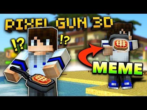 MEME WEAPON! 😂   Pixel Gun 3D - Thanksgiving Pie [Review]