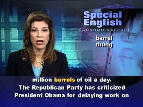 Anh ngữ đặc biệt: Obama-Energy (VOA)