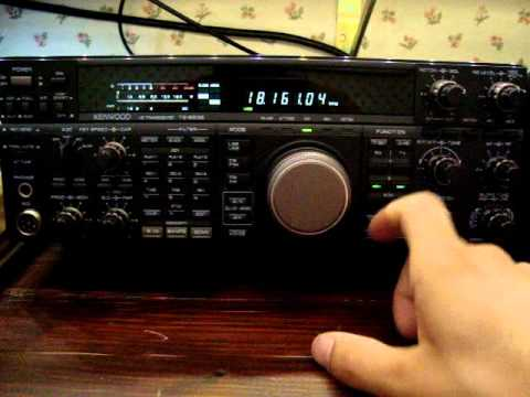 Kenwood TS-850 opening message