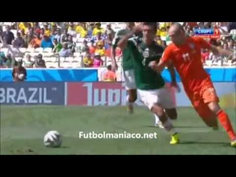 mexico vs holanda mundial brasil 2014 narracion martinoli HD