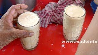 How to Make a Banana Milkshake | ROAD SIDE JUICE CENTER