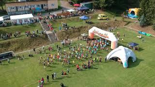 9.9. 2017 Běh Kovohutěmi - start z dronu