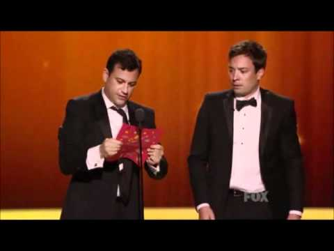 Jimmy Fallon`s Funny Message To Jimmy Kimmel.wmv
