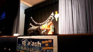 dhana dhanye pushpe bhara in bangla and hindi by Anindita Mukerji