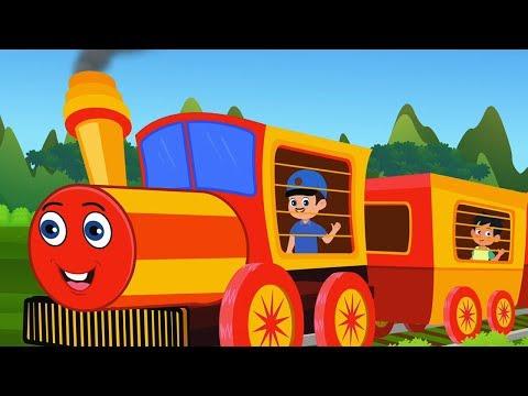 Chuk Chuk Rail Chali | छुक छुक रेल चली | Kids Tv India | Hindi Nursery Rhymes thumbnail