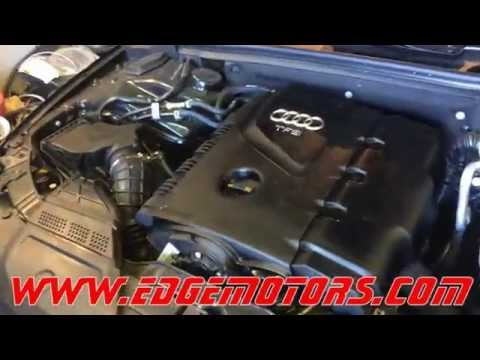 2009-2014 Audi A4 A3 Q5 VW Jetta GTI 2.0T tsi motor oil change and level check DIY by Edge Motors