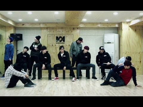 B1A4 -     (TRIED TO WALK DANCE PRACTICE VIDEO)