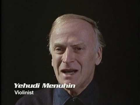 Dr. Lewis Thomas, JS Bach and Yehudi Menuhin - Michael Lawrence Films
