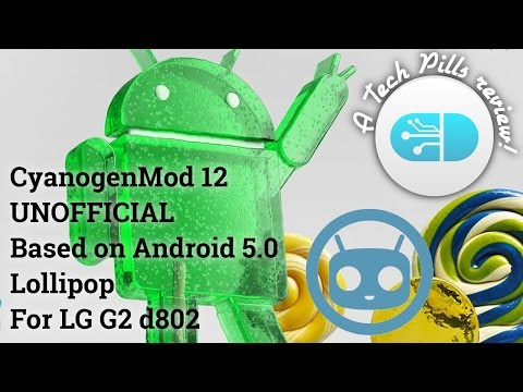 CyanogenMod 12 UNOFFICIAL on LG G2 (overview)
