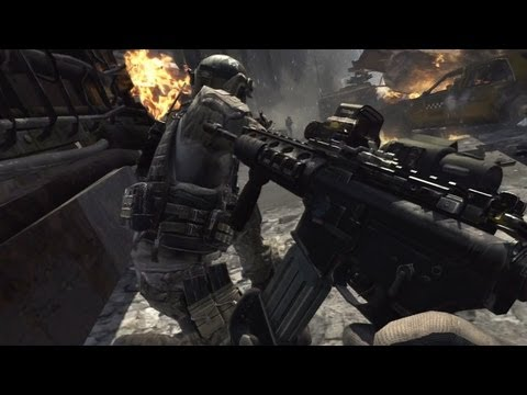 Call of Duty: Modern Warfare 3 - Walkthrough - Part 1 [Mission 1: Blac...