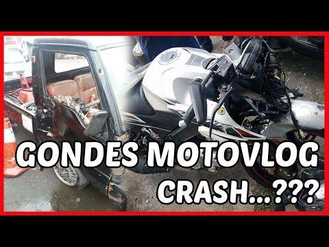 Gondes Motovlog Crash (Kecelakaan) ...?