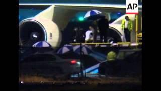 Body of Sheikh Maktoum flown back to UAE