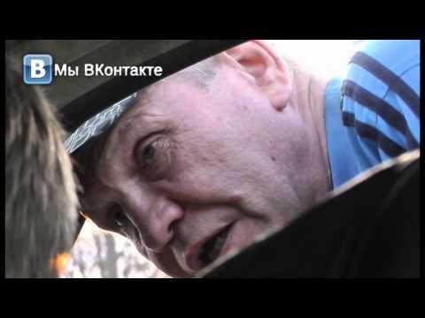 Пьяный на пятнадцатой Хлебозаводской. Место происшествия 20.05.2015