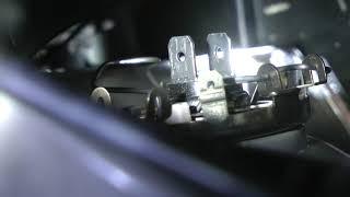 VW Sharan 2006 replacing the dipped headlight bulb