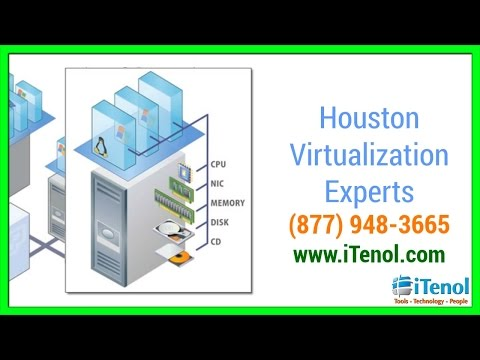 Houston Virtualization Expert (877) 948-3665 VMware Consultants Houston