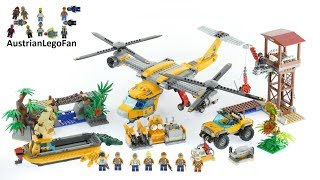 Lego City 60162 Jungle Air Drop Helicopter - Lego Speed Build Review