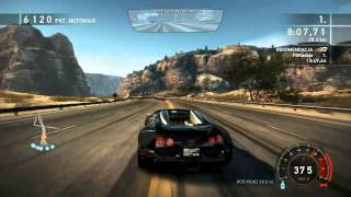 Need For Speed Hot Pursuit - Racer - FINAL Race END GAME Bugatti Veyron HD