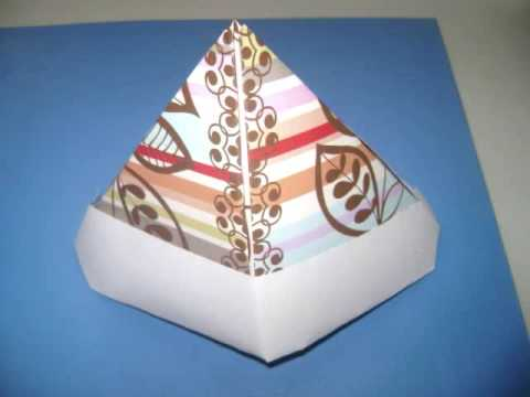 Easy Arts & Crafts: How to make an origami paper hat