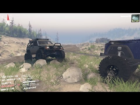 Spintires New Jeep Crawler Again And New A Land Rover !!