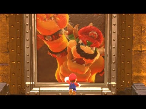Super Mario Odyssey - Darker Side Kingdom (Secret Final Kingdom)