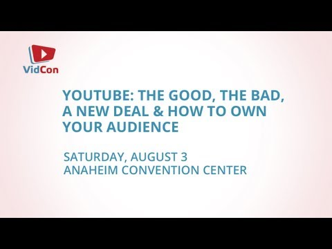 The Remodeling of YouTube Deals: Jason Calacanis at VidCon: Points and Counterpoints