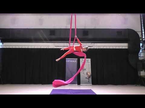 Вероника Куприянова - Catwalk Dance Fest [pole dance, aerial]  30.04.18.