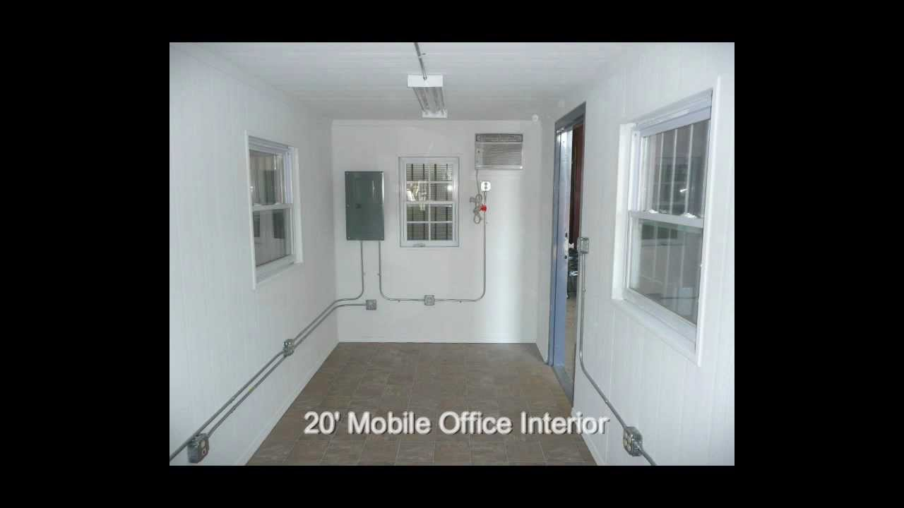 20 Amp 40 Mobile Office Shipping Container Office Youtube