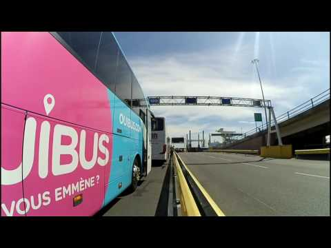 Ouibus London - Paris