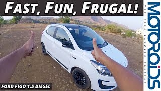 2019 Ford Figo POV Review | Best Entertainer For the Price | Motoroids