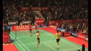 Tontowi Ahmad-Lilyana Natsir (Indonesia) VS Nan Zhang-Yunlei Zao (China) Final Ganda Campuran