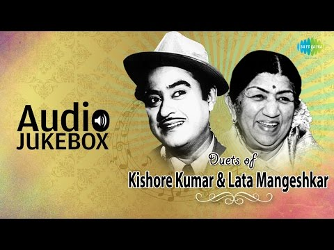 Best Of Lata Mangeshkar & Kishore Kumar Duets | Classic Romantic Songs | Audio Jukebox