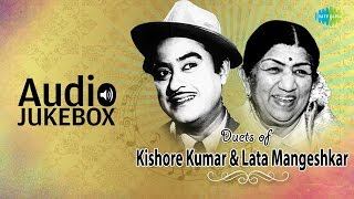 Best Of Lata Mangeshkar & Kishore Kumar Duets | Classic Romantic Songs | Audio Jukebox