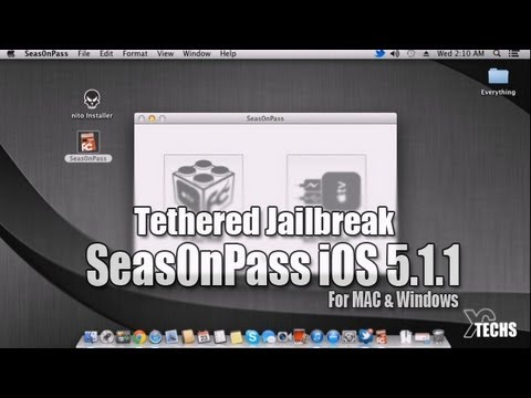 Seas0nPass Tethered Jailbreak 5.1.1 - 10A831 (iOS 6.0) For AppleTV 2