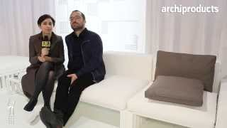 GANDIA BLASCO | Neri, Romero, Vallejo, Garvia - iSaloni 2014