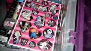 monster high room tour de ma chambre