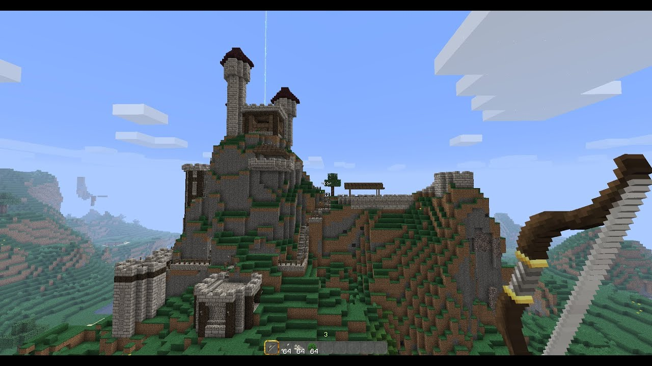 Medieval Mountain Fortress