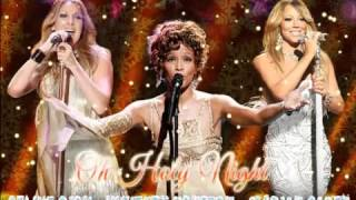 Céline Dion Whitney Houston Mariah Carey O Holy Night Audio