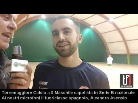 VIDEO: Torremaggiore Calcio a 5 di Serie B. Entusiasta lo spagnolo Alejandro Asensio