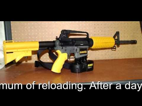 Dewalt Rapid Fire Nail Gun by