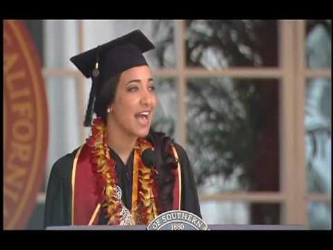 Sarrah Shahawy. USC Valedictorian Speech for Class of 2011