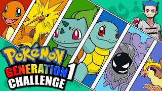 GENERATION 1 CHALLENGE | Pokémon Kanto Naming Challenge (Original 151)