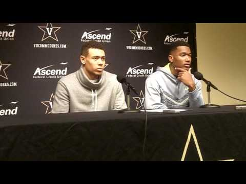 Wade Baldwin IV & Damian Jones Vanderbilt-Florida post game