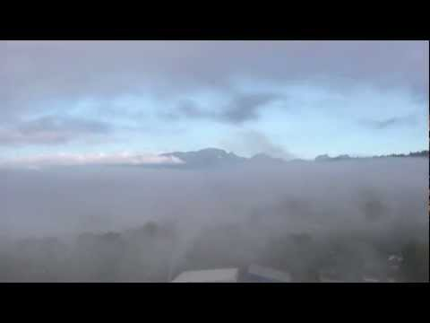 Cool cloud time lapse in port moody