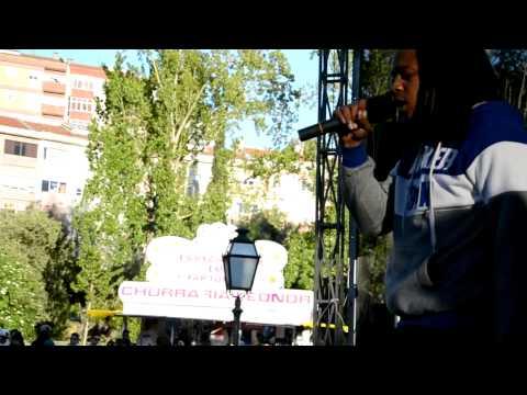 Madrugz, Kappa (GDR), Primero G ao vivo em Queluz