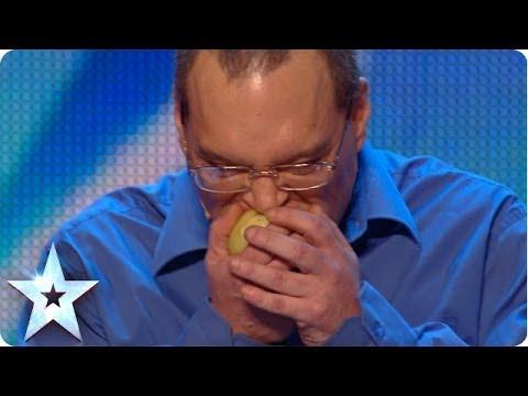 Record Breaking Raw Onion Eater? | Britain's Got Talent  2014 (Short Version)