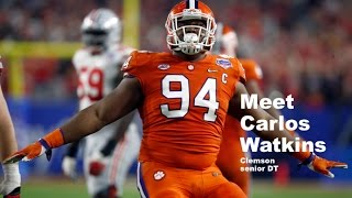 2017 NFL Draft: Carlos Watkins video profile
