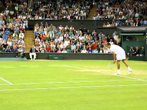 Nadal v Rosol matchpoint Wimbledon 2012